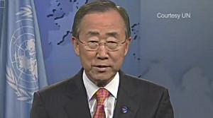 UN Präsident Ban Ki Moon spricht über seine Zeit als aktiver Pfadfinder.